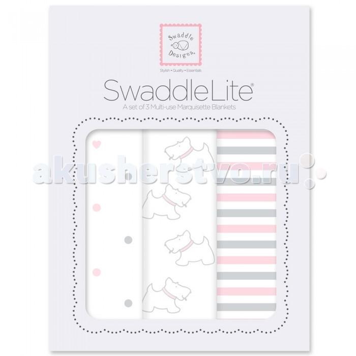 Пеленка SwaddleDesigns SwaddleLite комплект 3 шт.