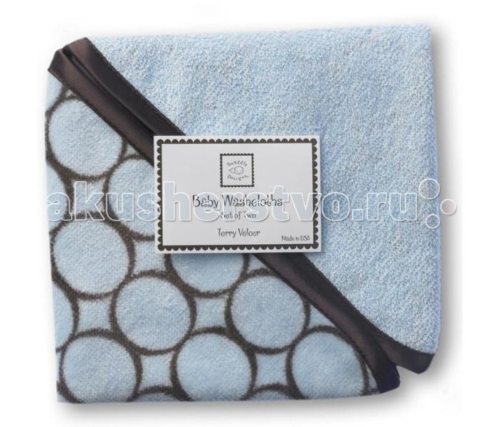 Мочалка SwaddleDesigns Washcloth set