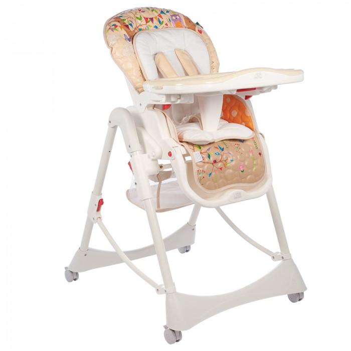 Стульчик для кормления Sweet Baby Land OvalLand OvalДетский стульчик для кормления Sweet Baby Land - обеспечит необходимый комфорт с первых дней жизни. Sweet Baby Land обладает ярким, оригинальным итальянским дизайном и отменным качеством.  Характеристики: Для детей с рождения до 3 лет Можно использовать с первых дней жизни как шезлонг, опустив спинку и подняв подножку Регулируемые пятиточечные ремни безопасности Легко съемный удобный поднос Съемная накладка на поднос 2 углубления для стаканов 3 позиции установки подноса Поднос можно повесить на задних ножках стула Возможность мойки подноса в посудомоечной машине Регулируемая спинка - 3 положения Регулируемая подножка - 3 положения 5 уровней высоты сидения Съемный чехол Съемный мягкий вкладыш Материал накладки на сидение экокожа Кресло оснащено 4-мя легко маневрируемыми колесиками с тормозами В сложенном состоянии стульчик занимает минимум места Анатомическая вставка для разделения ног Стульчик изготовлен из безопасного пластика, чехол из экокожи  Основа экокожи – хлопковая ткань, дающая мягкость, гигиеничность,и при этом она достаточно прочна на разрыв и растяжение. В состав экокожи входит натуральная кожа и искусственные материалы, созданные на основе целлюлозы.  Вес 11 кг Размер в разложенном состоянии 57/80/100 см Размер в сложенном состоянии 30/57/70 см<br>