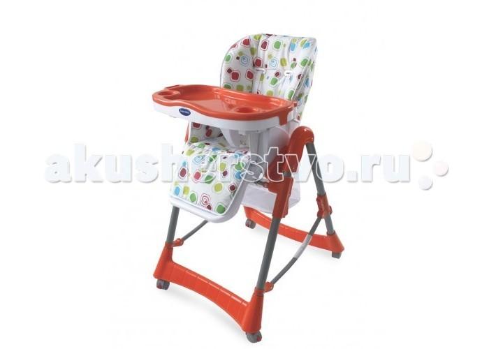 Стульчик для кормления Sweet Baby ModelliModelliСтульчик для кормления Sweet Baby Modelli – настоящий комфорт для мамы и ее малыша.  Вам будет удобно не только кормить малыша, но также он прекрасно сможет сидеть в таком стульчике, пока Вы будете заняты домашними делами. При этом ребенок будет в безопасности, а Вы сможете наконец-то посвятить время себе!  Особенности: Безопасность. Стульчик оснащен 5-точечным ремнем безопасности. У малыша надежно и мягко фиксируются плечи, ножки, животик. Ремень ничего не передавливает и не сжимает. Спереди защитную функцию выполняет столешница с закреплением ножек раздельно, боковые части стульчика защищают от выпадения. Качество. Изделие изготовлено из экологичного, плотного пластика, который легко моется. Как показывает практика, эта модель выдержит не одно поколение детей.  Стульчик подходит детям с полугодовалого возраста. И растет вместе с ними! Благодаря 5 уровням изменения высоты сиденья. Спинка фиксируется в 3 положениях. А это значит, что Ваш малыш сможет в таком стульчике не только вкусно покушать, но и поиграть, и отдохнуть – универсально! Столешница выполнена из плотного пластика, имеет борта, препятствующие падению посуды. Она легко снимается и моется в посудомоечной машине.  Габариты стульчика 70х60х106 см, а вес – 8.5 кг. Это очень компактная модель. Сетчатая корзинка под сиденьем позволяет держать любимые игрушки под рукой. Стульчик легко двигается благодаря четырем колесикам, каждое из которых оборудовано стопперами.<br>