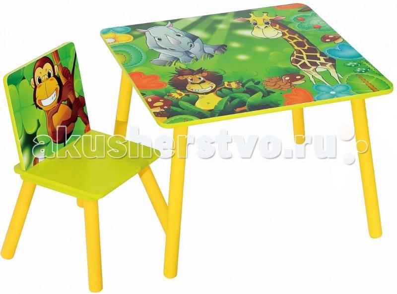 Sweet Baby Набор детской мебели стол и стул Uno