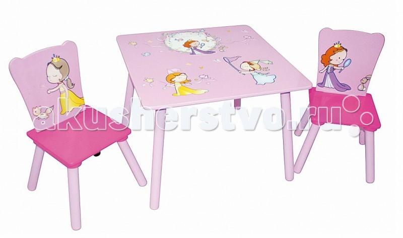 Sweet Baby Набор детской мебели стол и стулья DuoНабор детской мебели стол и стулья DuoСтол и стульчики с яркой расцветкой от известного бренда Sweet Baby Duo станут отличным сетом, который создаст в комнате ребенка полноценную рабочую зону, которая может служить еще и зоной для обучения малыша в непринужденной игровой форме. Ведь тогда знания усваиваются значительно легче и быстрее.  Характеристики Sweet Baby Duo: Мебель подходит для детей возрастом до 3-4 лет Может использоваться для игр и обучения, и даже освоения столовых приборов ребенком Производится в соответствии с европейскими стандартами качества из экологичных и надежных материалов Имеет яркую и красочную расцветку Мебель очень устойчивая и надежная Мебель лишена неоправданных острых углов Трапециевидная конструкция ножек стульчика делает его очень устойчивым и надежным Материал изготовления высококачественный МДФ Сиденье удобной эргономичной формы Вес, кг 9 Габариты стола (Д х Ш х В), см 60 x 60 x 44 Габариты стула (Д х Ш х В), см 27 х 27 х 51<br>