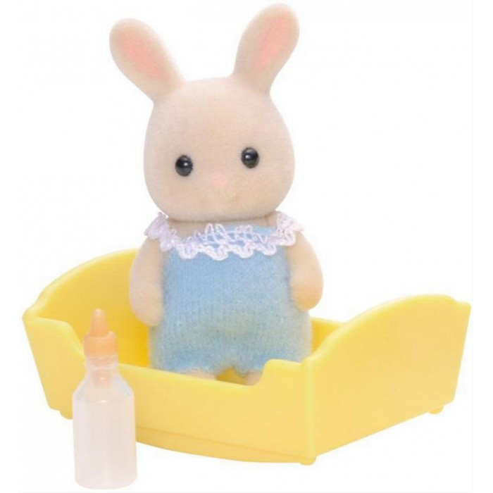 Sylvanian Families Игровой набор Малыш молочный кролик