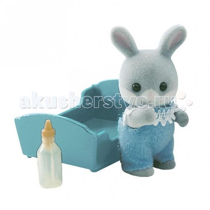 Sylvanian Families Игровой набор Малыш Серый Кролик