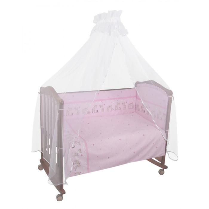 Бампер для кроватки Тайна Снов ОленятаОленятаБампер в кроватку защитит малыша, пока он маленький. И послужит отличным украшением детской кроватки.  бортик из 4х частей, высотой 38 см, по всему периметру кроватки (чехол съемный) состав ткани: нежная бязь из самой тонкой нити 100% хлопок безупречной выделки, ткань с авторским рисунком деликатные швы, рассчитанные на прикосновение к нежной коже ребёнка высокий бортик по всему периметру кроватки наполнитель бортика ХоллКон плотностью 500  Для кроватки размером 120х60 см<br>