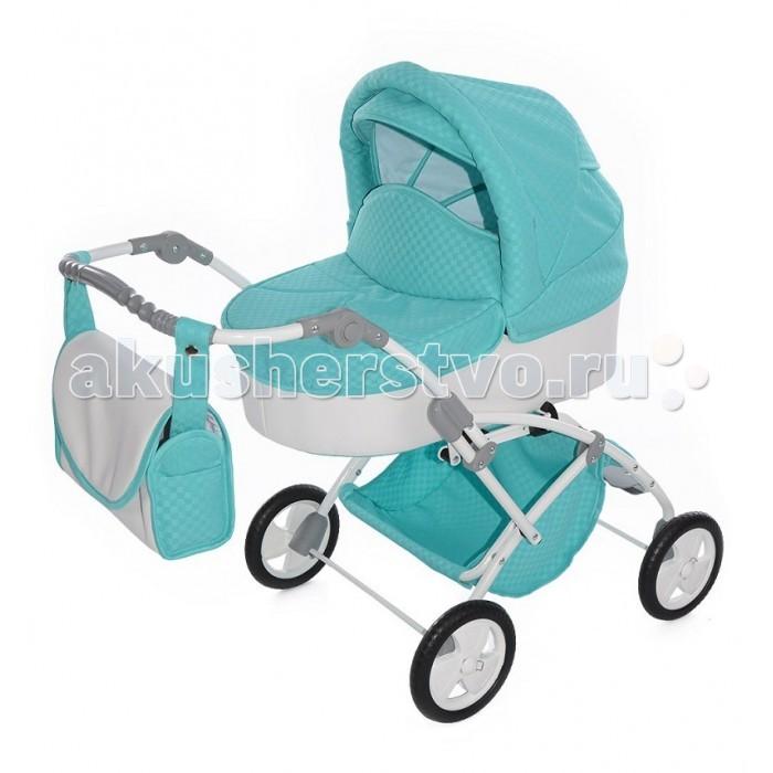 Коляска для куклы Tako Laret MiniLaret MiniЭто стильная, устойчивая коляска станет любимой игрушкой для Вашей малышки!  Коляска для кукол выполнена в стиле настоящей коляски - это очень модная модель!  Козырек и смотровое окошко в капюшоне коляски для кукол Mini Laret (Tako).  Резиновые колеса.  Теперь любимая куколка сможет ездить на прогулки в стильной и красочной коляске со своей хозяйкой!  Коляска прекрасно подходит для игр как на улице, так и дома.  В комплекте: накидка на ножки и сумочка для маленькой мамы.  Ручка регулируется по высоте.  Вес: 6 кг.  Материалы: металл, ткань, резина.<br>