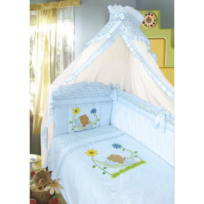 Комплект в кроватку Золотой Гусь Сладкий сон (7 предметов)