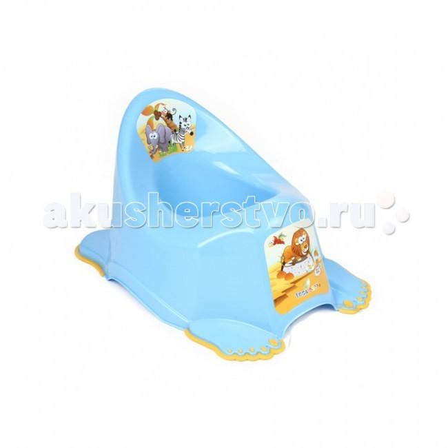 Горшок Tega Baby антискользящий Safariантискользящий SafariАнтискользящий горшок Tega Baby поможет вам приучить малыша к горшку легко, ненавязчиво и безопасно.  Удобный горшок, подойдет ребенку любой комплекции.  Устойчивая конструкция и высокая спинка с интересным рисунком, обеспечит комфорт даже в случае, если процесс затянется.  Кроме того, горшок Tega Baby поможет поддержать правильное положение позвоночника, что благотворно скажется на осанке вашего малыша.<br>