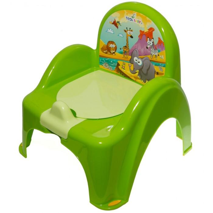 Горшок Tega Baby стульчик Safariстульчик SafariГоршок-стульчик представлен в ассортименте несколькими цветами. Модель украшена изображениями животных.  Горшок имеет спинку, удобное сиденье, повторяющее форму унитаза. Горшок выполнен из высокопрочной пластмассы, легко моется, не накапливая посторонние запахи.  Особенности: материал — высококачественный пластик удобная спинка высокие и удобные подлокотники внутренняя часть горшка легко вынимается и моется отдельно защита от брызг оригинальный дизайн украшен красивыми рисунками поможет в игровой форме приучить ребенка к горшку устойчивый горшок легкий не громоздкий легко мыть<br>