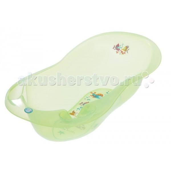 Tega Baby Ванночка для купания Aqua 86 см без градусникаВанночка для купания Aqua 86 см без градусникаДетская ванночка специально разработана и предназначена для купания малыша с первых дней жизни.   Она изготовлена из высококачественного, легкого и прочного пластика.   Ванночка оснащена двумя отделениями для туалетных принадлежностей и имеет удобную форму, что обеспечивает простоту и удобство купания ребенка.   Размер: 86 см.<br>