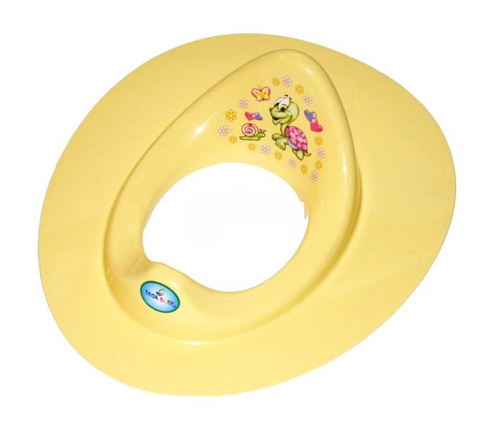 Tega Baby Сиденье для унитаза Веселая черепахаСиденье для унитаза Веселая черепахаУдобное сиденье для унитаза в ярких тонах с ярким изображением симпатичной черепахи приучит Вашего малыша к взрослому туалету.  Подходит ко всем стандартным туалетам. Насадка безопасна для детей - она не имеет острых углов и швов. Эргономичный дизайн, удобная спинка и анатомическая форма сиденья создают идеальные условия для комфорта ребенка.<br>