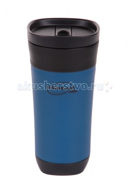 Термос Thermos Кружка-термос THERMOcafe by GP1010ATRI6 Durable Plastic exterior & interior Tumbler 470 мл