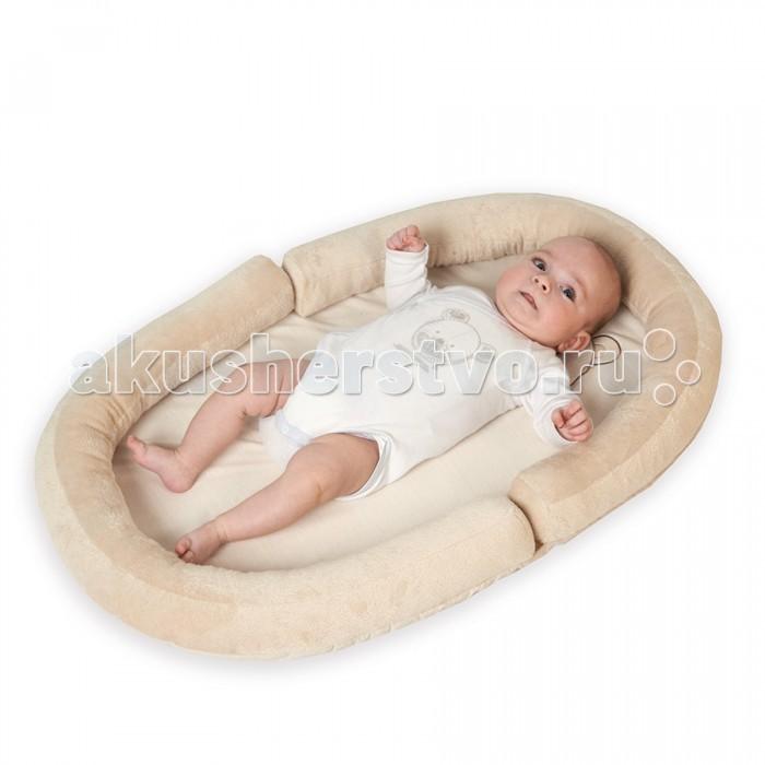 Tineo Коврик с валиками овальный Baby Nest Мишка