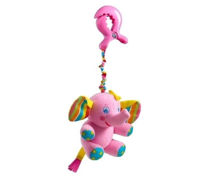 Подвесная игрушка Tiny Love СлоненокСлоненокПредназначена для новорожденных детей. Ее устройство отличается наличием вибрирующего эффекта и клипс для крепления.<br>