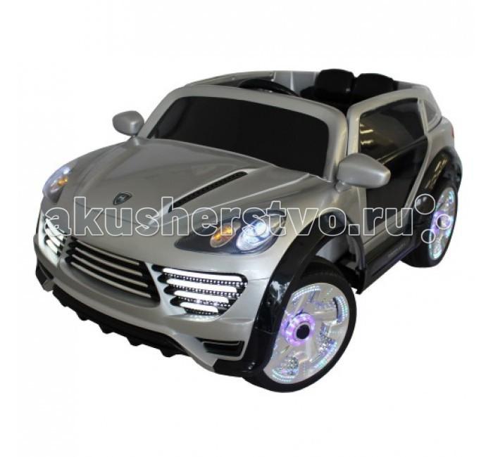 Электромобиль TjaGo PorschPorschЭлектромобиль TjaGo Porsch предназначен для использования одним пассажиром в возрасте от 3 до 6 лет.  Особенности: Электромобиль оснащен МПЗ, регулятором громкости и индикатором батареи.  Мощность: 12v7AH Вес пассажира: до 40 кг Скорости: 2 скорости вперед и назад, 3- 5 км/ч Колеса: пластиковые Двери: открываются  Размер: 126х71х57 см<br>