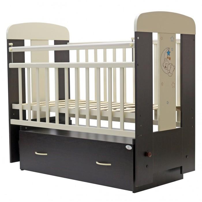 Детская кроватка Топотушки Верона (поперечный маятник)