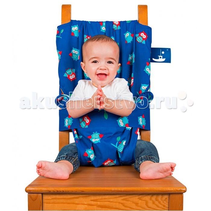 Стульчик для кормления Totseat МобильныйМобильныйTotseat Мобильный стульчик для кормления Тотсит может стать идеальным спутником в путешествиях с маленькими детьми.  Особенности: Стульчик мгновенно превратит любой стул со спинкой в детский стульчик для кормления.  Totseat легко моется и уместится даже в дамскую сумочку. Мобильный детский стульчик для кормления Totseat (Тотсит) предназначен для детей от 6 до 30 месяцев.  Эксперты WHICH охарактеризовали Totseat как хорошо продуманный и очень простой в использовании».   Мобильный детский стульчик для кормления Totseat (Тотсит) универсален и подходит для любого стула - с высокой или низкой спинкой, а также с круглой или в виде буквы П. Его очень легко использовать - накиньте на стул, отрегулируйте длину, защелкните и наслаждайтесь восхищенными вздохами окружающих. Дизайну Totseat уделено особое внимание. Дорожный стульчик Totseat выполнен из прочной, удобной ткани (проверенной Oeko-Tex), которую легко почистить или помыть. Вы можете выбрать расцветку, которая приглянется Вам и подойдет вашему малышу. Продуманная и безопасная конструкция Totseat получила множество наград, в том числе «Gift of the Year 2009» и имеет логотипом CAPT (Child Accident Prevention Trust) на упаковке. Мобильный детский стульчик для кормления Totseat (Тотсит) - это отличный выбор и полезный аксессуар в поездке. Удобный, моющийся и компактный – он легко поместится в любую сумку или даже в карман к бабушке. Вы можете взять его на пикник и посадить кроху отдыхать в шезлонге! А дополнительная упаковочная сумочка на молнии отлично подойдет для мокрого слюнявчика!   Состав: 50% хлопок, 50% полиэстер<br>