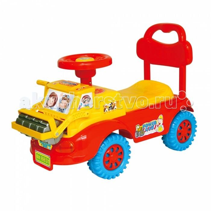 Каталка Toysmax Экскаватор 8831Экскаватор 8831Каталка Toysmax Экскаватор многофункциональная игрушка, которая позволит ребенку развить координацию движений и провести время за интересной игрой, а также почувствовать себя настоящим водителем.  Характеристики:  Каталка имеет устойчивую конструкцию Высокая спинка, за которую малыш может держаться при ходьбе Вместительный багажник под сиденьем Свето-музыкальные эффекты Легкое движение вперед и назад Вместительный багажник под сиденьем На руле кнопка звукового сигнала-пищалки Колеса с поворотом на 90 градусов.  Размер: 58&#215;37&#215;49 см  Вес: 5,05 кг  Возраст: от 3 года до 6 лет<br>