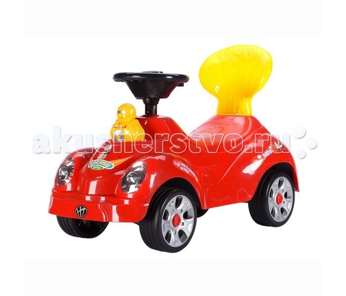 Каталка Toysmax УтёнокУтёнокКаталка Toysmax Утенок многофункциональная игрушка, которая позволит ребенку развить координацию движений и провести время за интересной игрой, а также почувствовать себя настоящим водителем.  Характеристики:  Каталка имеет устойчивую конструкцию Свето-музыкальные эффекты Колеса с поворотом на 90 градусов Движение вперед и назад.  Размер: 61х26х42 см  Вес: 5 кг  Возраст: от 3 года до 6 лет<br>