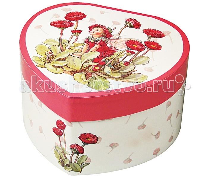 Trousselier Музыкальная шкатулка в форме сердца Flower Fairies