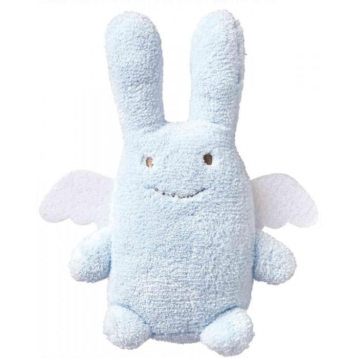 Мягкая игрушка Trousselier Зайка с крылышками 18 смЗайка с крылышками 18 смМягкая игрушка Trousselier Зайка-ангелочек – отлично подходит для малышей от 6-х месяцев. Ваш ребенок влюбится в нее с первого взгляда и она станет для него первым другом.  Кроха полюбит этого милого зайчика-ангелочка с забавными ушами, мягкими крыльями и веселой, улыбающейся мордочкой.  Характеристики: Игрушка имеет такую форму, что бы ребенку было удобно удерживать ее в своей ручке Зайчик изготовлен из натуральных материалов и тканей, которые абсолютно безопасны и безвредны для малышей Мягкие игрушки стимулируют развитие осязательных ощущений у малышей. Деткам нравится держать их в руке, рассматривать и размахивать ими Поскольку игрушка мягкая, малыш не сможет себя случайно поранить, что бы он с ней не делал  Размер: 18 см. Материал: Хлопковый велюр. Советы по уходу: Возможна ручная стирка игрушки.  Французский бренд Trousselier вот уже более 40 лет создает уникальные коллекции детских игрушек, товаров для дома и интерьера. Вся продукция изготовлена из натуральных материалов с соблюдением высоких европейских стандартов качества.<br>