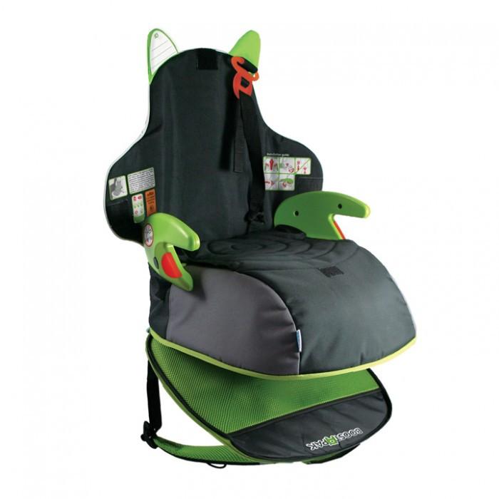 Бустер Trunki BosstApak рюкзакBosstApak рюкзакАвтокресло-рюкзак Trunki BoostApak изготовлен из жесткого пластика, при необходимости легкий, вместительный рюкзак трансформируется в детское кресло.   На первый взгляд BoostApak - обычный школьный рюкзак, если не знать о его уникальной функции. Рюкзак BoostApak хорошо брать в путешествие, родителям не нужно беспокоиться о специальном автокресле для своего малыша.   Детское сидение для машины всегда за плечами Вашей маленькой путешественницы!  Рюкзак-кресло подходит для детей до 13 лет, ростом до 135 см и весом до 35 кг.  Размеры: 46 x 20 x 30.5 см   BoostApak соответствует нормативам безопасности - норматив ECE R44.04 для группы 2 и группы 3.<br>