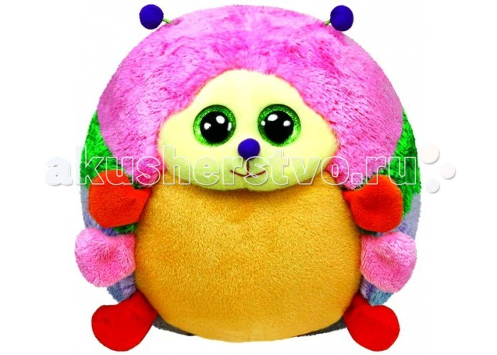 Мягкая игрушка TY Beanie Ballz Гусеница Grumdrop