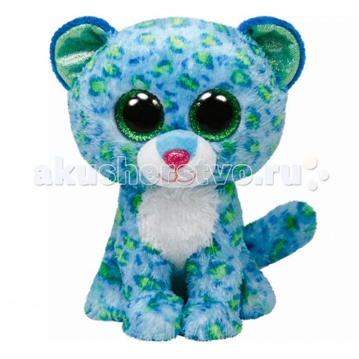 Мягкая игрушка TY Beanie Boos Тигренок LeonaBeanie Boos Тигренок LeonaTY Beanie Boos Тигренок Leona  Леопард из линейки Beanie Boos — милая малышка по имени Лиона. У нее есть не только имя, но и свой день рождения. Его дата — 18 ноября.  К мягкой игрушке присоединена этикетка в виде книжечки, в которой можно прочитать и стишок-девиз Лионы: For I am the prettiest cat With bright green eyes And spots to match (Я самая милая кошечка, с ярко-зелеными глазами и пятнами им в тон!)  Игрушка действительно невероятно милая и мягкая. Ее невозможно выпустить из рук, настолько приятна она на ощупь!<br>