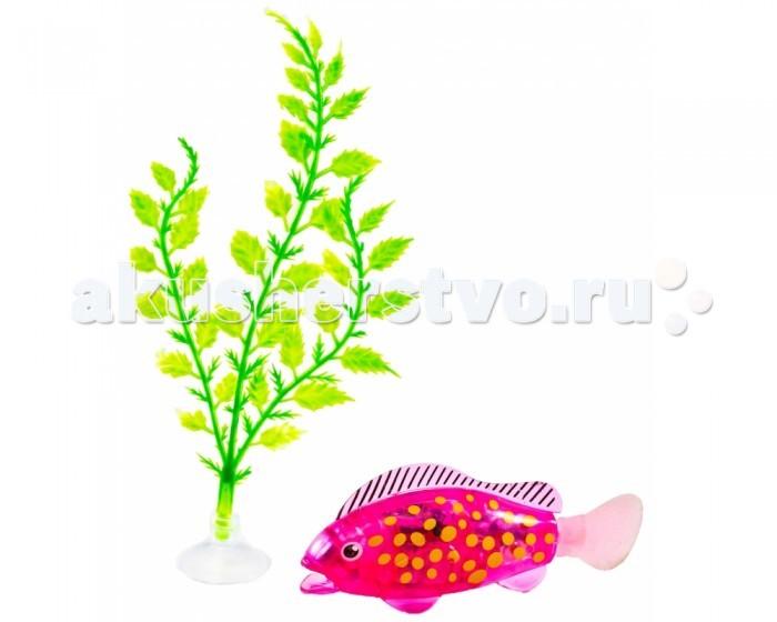 Интерактивная игрушка UF Робо-рыбка Z-Fish с аксессуарами (свет, движение)