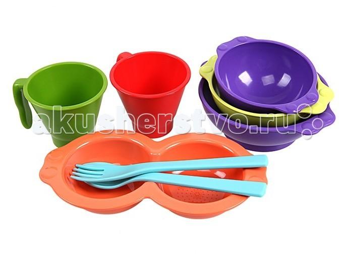 Uinlui Набор детской посуды 8 предметов
