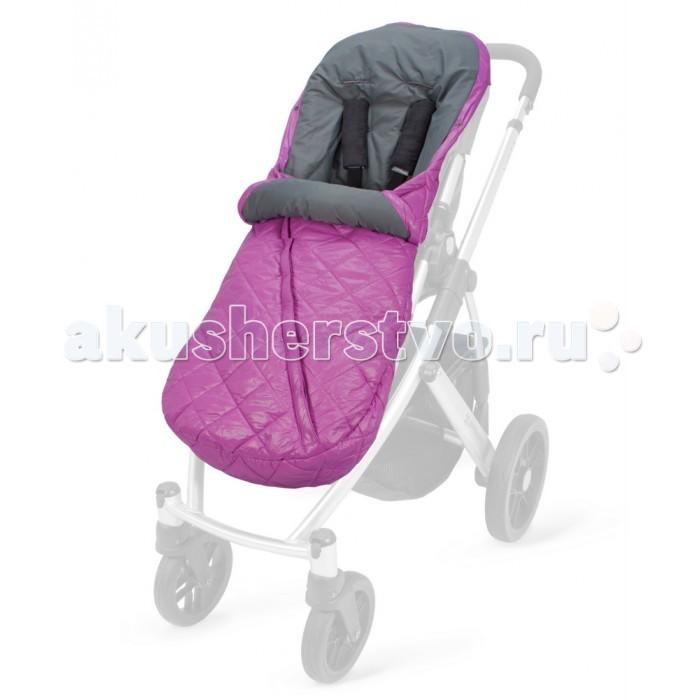 Демисезонный конверт UPPAbaby BabyGanooshBabyGanooshUPPAbaby Конверт BabyGanoosh идеально подходит для колясок Vista и Cruz. Конверт для малыша из современных материалов обеспечит вашему ребенку тепло и комфорт в прохладную погоду до -6 градусов.   Предназначен для малышей с 3-х месяцев и до 86 см.  Возможна машинная стирка.<br>