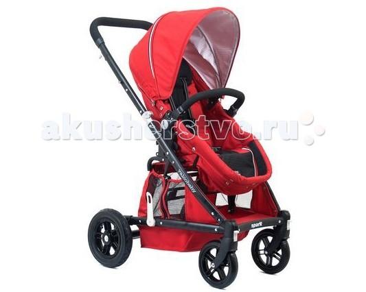 Прогулочная коляска Valco baby Zee SparkZee SparkДетская прогулочная коляска Valco Baby Zee Spark - прогулочная коляска, которая трансформируется в полноценную люльку.  Особенности:  - Сиденье «Transforma» трансформируется в полноценную люльку. - Откидываемая спинка. Спинка сидения наклоняется плавно до полностью горизонтального положения. Подходит для новорождённых. - Педаль тормоза окрашена красным, в соответствии с австралийским стандартом. - Снять и поставить на тормоз можно подошвой, не пачкая верхнюю часть обуви. - Легкосъемные колеса. Все колеса легко снимаются для очистки или отдельного хранения. - Капор «EXpanda» Расширяется при помощи застежки на молнии и защищает ребенка от солнца. - 10 Надувные задние колеса с амортизацией поглощающей неровности. - Автоматически фиксируется при складывании. - Возможно установить сиденье в положение «лицом к маме». - Окошко «Peek-a-boo». Окошко на коляске удобно расположено, так что Вы можете открыть его и взглянуть на спящего малыша во время прогулки. - Сидение «Airgo». Специальная ткань, которая способствует свободной вентиляции. - Съемный или отстегиваемый с одной из сторон бампер для легкого доступа в коляску.  Спецификации:  - В разложенном виде, см: 90Д x 60Ш x 105В - В сложенном виде, см: 95Д x 60Ш x 56В - Внутренние размер сиденья, см: 21.5Д x 31.5Ш x 45.5В - Вес с колесами: 11 кг - Возраст: 0 + - Грузоподъемность: 18 кг<br>