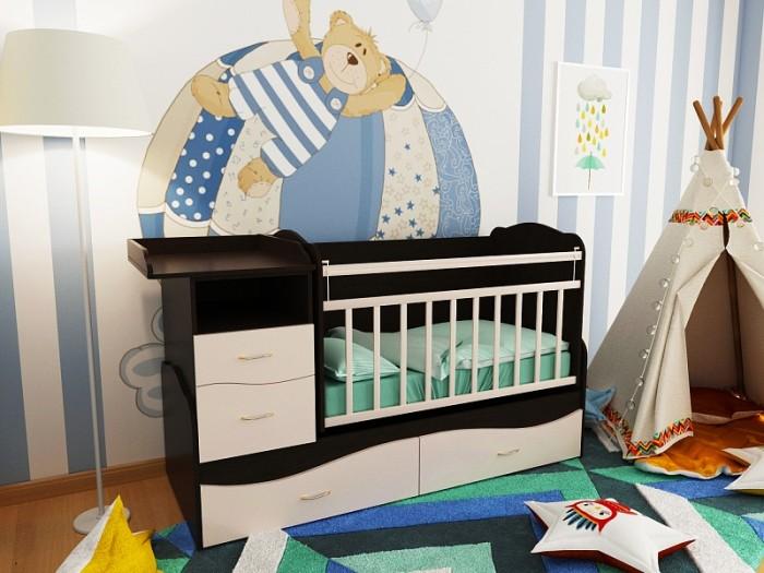 Кроватки для новорожденных москва цены