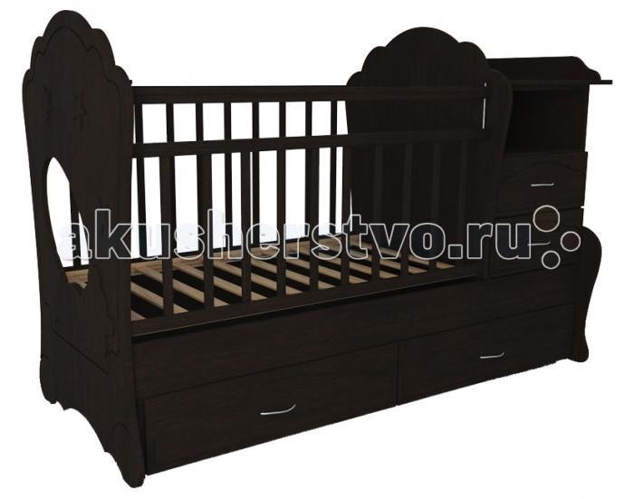Кроватка-трансформер Valle Kapris