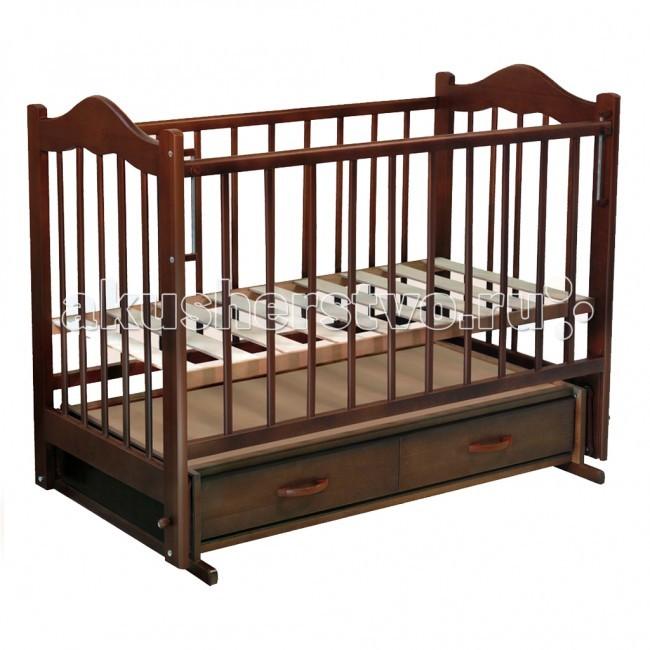 Детская кроватка Ведрусс Кира №4 (поперечный маятник)