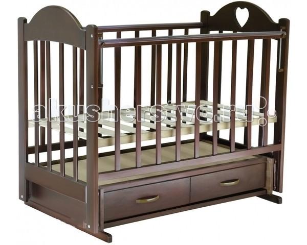 Детская кроватка Ведрусс Иришка №3 (поперечный маятник)