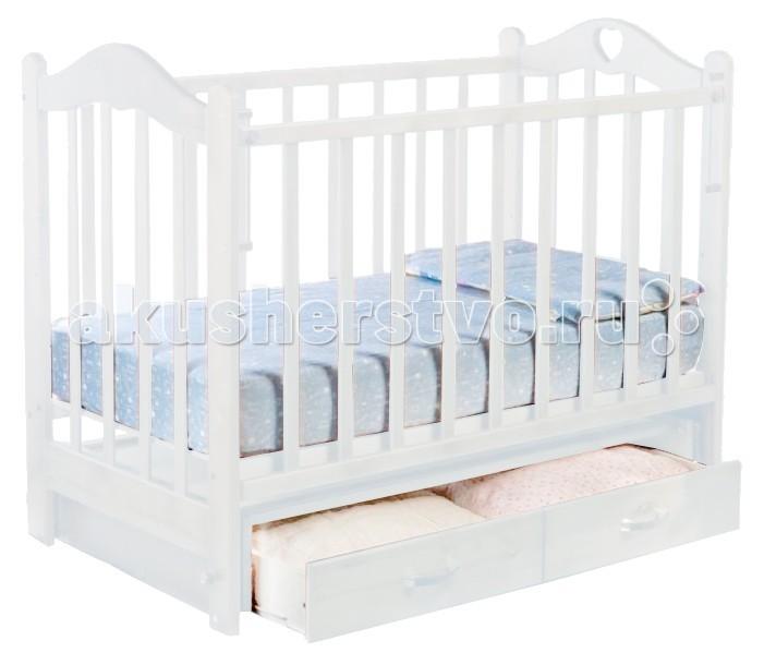 Детская кроватка Ведрусс Лана №3 (поперечный маятник)