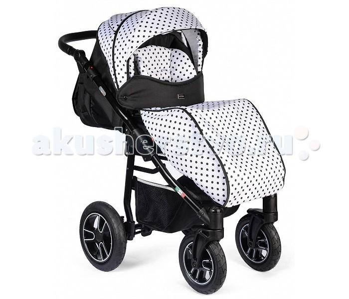 Прогулочная коляска Vikalex LazzaraLazzaraДетская коляска Vikalex Lazzara предназначена для детей от 6 месяцев до 3 лет (15 кг).     Каркас коляски выполнен из прочного и легкого алюминия. Большие надувные колеса с подшипниками добавляют коляске надежность, устойчивость и вездеходность. Колеса легко и просто снимаются. Передние колеса оснащены удобной функцией поворота на 360 гр, с возможностью блокировки.   Особенности: Ручка для родителей перекидная, регулируется по высоте. Спинка коляски регулируется до горизонтального положения. Прогулочный блок оснащен 5-титочечным ремнем с мягкими накладками и ограничителем между ножек. Поручень (бампер) коляски оббит мягкой тканей, легко устанавливается и снимается. Регулируемая подножка коляски. Удобный ножной тормоз. Рама коляски легко складывается, и фиксируется (помещается в любой багажник). Компактна в сложенном виде. Большая и вместительная корзина для подручных предметов. Европейский сертификат соответствия СЕ / Сертификат РСТ    В комплекте идет: накидка на ножки, корзина для покупок, сумка для мамы.<br>