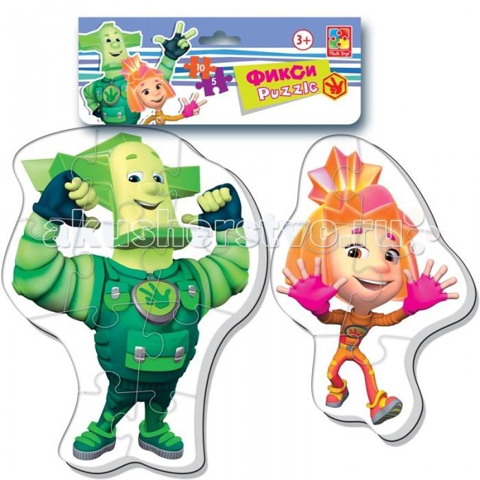Vladi toys Мягкие пазлы Baby puzzle Макси Фиксики