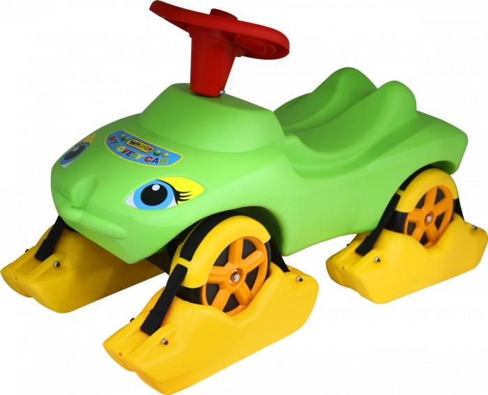 Каталка Wader Мой любимый автомобиль с полозьями на зиму