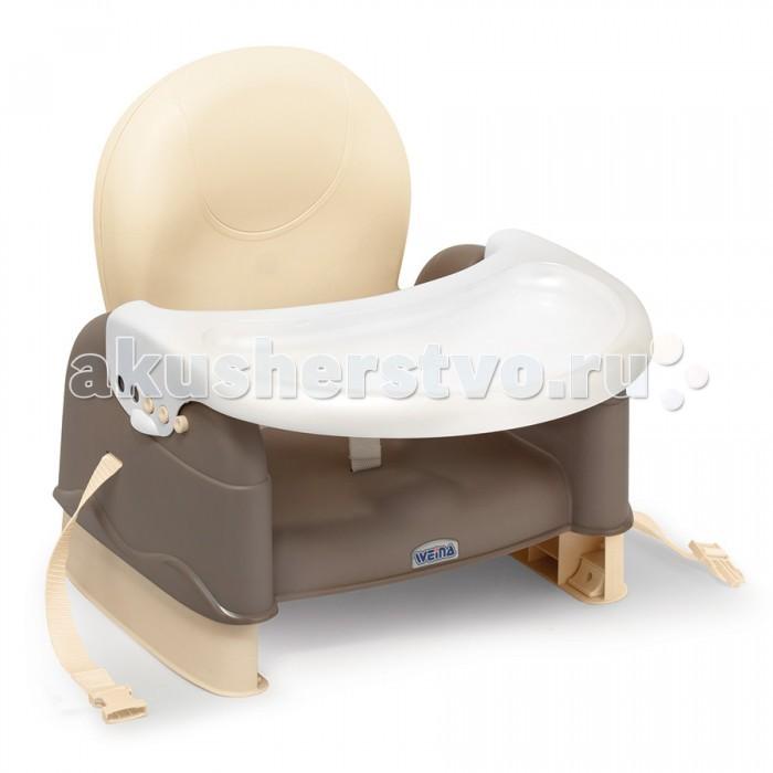 Стульчик для кормления Weina Бустер для стульчика EasyGoБустер для стульчика EasyGoWeina Бустер для стульчика EasyGo  Характеристики: Бустер EasyGo Удобно крепится к стульчику 2-я ремешками 3 уровня регулировки по высоте Съемный регулируемый поднос для кормления На подносе можно крепить все игровые панели WEINA Компактно складывается С удобным ремешком через плечо, можно носить с собой.  Размер: 64.5 х 41.9 х 34 см   Возраст: от 6 месяцев<br>
