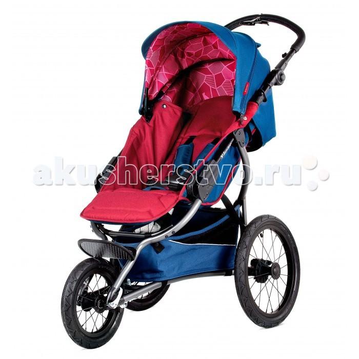 Прогулочная коляска X-Lander X-RunX-RunНовая модель коляски X-lander X-Run создана специально для молодых родителей, ведущих активный образ жизни. Стильная и функциональная она проста в использовании и управлении. Смелые дизайнерские решения позволили воплотить в реальность все, о чем может мечтать молодая мамочка на прогулке – легкая рама, маневренные колеса, мягкий ход и масса необходимых приятных мелочей. Большой капюшон хорошо защищает от дождя, ветра и солнца. В жаркий день можно отстегнуть заднюю часть для лучшей вентиляции. Люлька может отстегиваться, и ее очень удобно использовать в качестве переноски.  Коляска X-lander X-Run оснащена специальными устойчивыми колесами. Улучшенное сцепление с поверхностью обеспечивает слегка наклоненное расположение колес. Это дает возможность легко и безопасно управлять коляской во время быстрого движения. Регулируемая по высоте ручка оснащена специальным звоночком, который предупредит о вашем движении зазевавшихся пешеходов. Для перемещение в темное время суток на коляске имеются яркие светоотражатели. X-lander X-Run – это настоящий «спорт-кар» в мире детских колясок! Но в отличие от автомобиля, конструкция легко складывается в удобную книжку и легко переносится при необходимости.  Характеристика: предназначена с 6 месяцов алюминиевая рама большие надувные колёса задние колёса установлены под углом для стабильности при быстрой скорости плавная амортизация регулируется высота ручки ручной тормоз наклон спинки спортивной части регулируется с помощью ремней сидячая часть ставится только в сторону движения регулируемая подставка для ног, ребёнок может свободно разместить ножки в любом положении 5-точечные ремни безопасности съёмный барьер складывается в книжку  вместительная корзина  на раму можно устанавливать люльку X-Lander  с помощью специальных адаптеров возможность устанавливать на раму автокресла (0-13 кг)<br>
