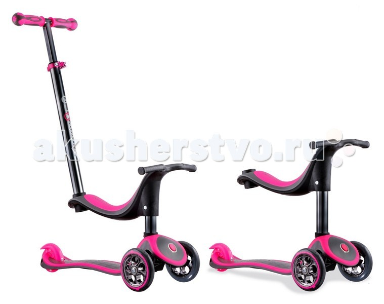 ������� Y-Scoo RT Globber My free Seat 4 in 1 Titanium