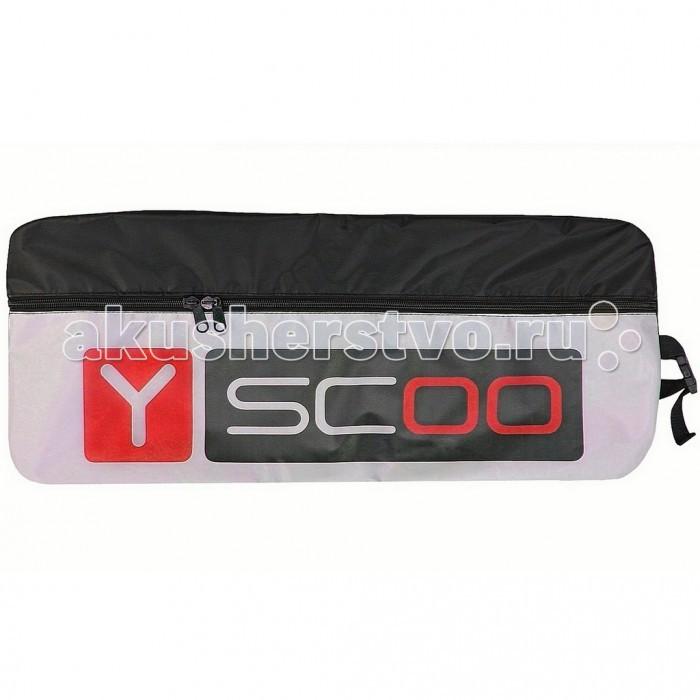 Y-Scoo Сумка-чехол для самоката 205Сумка-чехол для самоката 205Y-Scoo Сумка-чехол для самоката 205 - чехол для всех самокатов с колесами диаметром до 205 мм.  Особенности: Уникальность чехлов Y-Scoo — прочная ткань ПВХ и очень широкий, прочный и надежный замок-молния. 2х-замковая усиленная молния расстёгивается максимально, что позволяет легко и быстро уложить самокат в чехол.  Универсальный чехол с широким усиленным плечевым ремнем - лямкой на карабине, который можно отрегулировать на любую длину.  Ремень - лямка выполнен как мягкий наплечник, который позволит удобно носить самокат за спиной.  Дополнительная ручка для вертикальной переноски чехла с самокатом- из мягкого силикона.  Очень прочная и эргономичная.  Материал — прочная износостойкая непромокаемая двухслойная ткань с ПВХ, применяемая для специализированного производства чехлов и сумок.  Внутренняя сторона чехла - ПВХ - водо-грязенепроницаемый материал.  Его легко и просто протирать и мыть.  Чехол можно сложить, в сложенном виде он занимает мало места.  Чехол необходим для перевозки самоката в общественном транспорте, потому что очень важно не испачкать одежду окружающих. А для хранения самоката чехол просто идеален.<br>