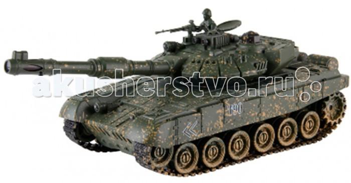 Yako Радиоуправляемый танк Т90 1:24Радиоуправляемый танк Т90 1:24Радиоуправляемый танк YAKO Т90 может не просто перемещаться в пространстве, он и стрелять из автоматической пневматической пушки.    Особенности:   Масштаб 1:24  Частота 27 МГц.   Пушка с инфракрасным излучаетелем.   Радиус действия пульта -12 м.   Радиус передачи ИК сигнала - 8 м.   Время работы 15-20 минут.   Время зарядки - 4 часа.   Скорость танка - 6 км/ч.   Демо режим.   Функция автоотключения.   Имитация отката при выстреле.   Движение танка во все стороны.   Поворот башни на 320 градусов.   Подъём на наклонную поверхность при угле наклона - до 45 градусов.   Питание танка от аккумулятора (в комплекте) Ni Cd 600 mAh 4,8V.  Питание пульта управления - от 2-х батареек типа АА (нет в комплекте).<br>