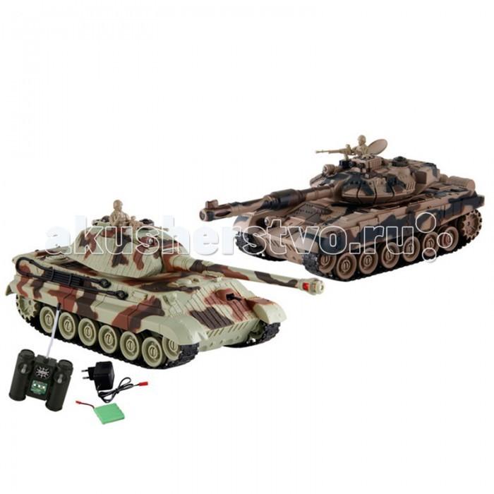 Yako Танковый бой 1:24 Т90 против Королевского тигра