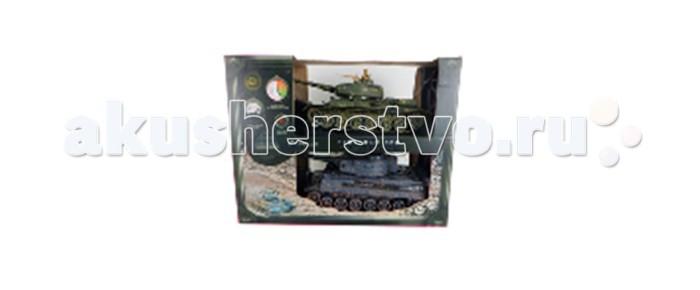 Yako Танковый бой 1:24 ZTZ-96A против M1A2Танковый бой 1:24 ZTZ-96A против M1A2Танковый бой YAKO ZTZ-96A против M1A2  В качестве снарядов танки выстреливают инфракрасными лучами на расстояние до 3 м. При выстреле происходит звуковая соответствующая имитация. У каждого танка, на задней стороне башни есть 4 светодиода - жизни машины.   Цель игры - уничтожить танк неприятеля. При попадании по танку его жизни уменьшаются - потухает светодиод, если все светодиоды потухли, значит Вы проиграли и танк больше не сможет исполнять Ваши сигналы. Так же следует отметить, что два танка имеют различные характеристики, но в целом силы равны.   Особенности:   Частота 27 МГц (А/С)  В наборе 2 танка 1:24.   Пушка с инфракрасным излучаетелем.   Индикатор уровня жизни.   Радиус действия пульта - 12 м.   Радиус передачи ИК сигнала - 8 м.   Время работы 15-20 минут.   Время зарядки - 4 часа.   Скорость танка - 6 км/ч.   Демо режим.   Функция автоотключения.   Имитация отката при выстреле.   Движение танка во все стороны.   Поворот башни на 320 градусов. Подъём на наклонную поверхность при угле наклона - до 45 градусов.   Световые и звуковые эффекты. Звук двигателя и выстрелов.   Питание танка от аккумулятора (в комплекте) Ni Cd 600 mAh 4,8V.  Питание пульта управления - от 2-х батареек типа АА (нет в комплекте).<br>