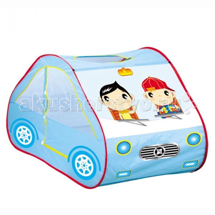 Yongjia Детская игровая палатка АвтомобильДетская игровая палатка АвтомобильДетская игровая палатка Автомобиль замечательно подходит как для игр в помещении, так и для летнего отдыха детей за городом, на даче или пикнике. Изготовлена из экологически чистого, водонепроницаемого, дышащего материала. Игровая палатка - отличное место для самостоятельной или групповой сюжетно-ролевой игры. Выполнена из текстильных материалов на металлическом каркасе. Легкая, прочная палатка, легко стирается и удивительно проста в сборке.  Основные характеристики:  Размер палатки: 131 х 71 х 75 см Вес: 0,850 кг<br>