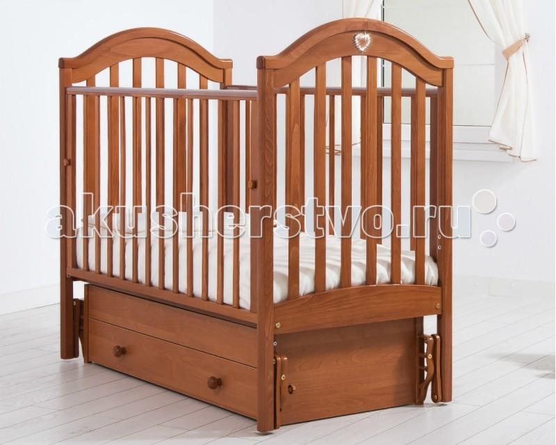 Детская кроватка Гандылян Софи (универсальный маятник) - Вишня