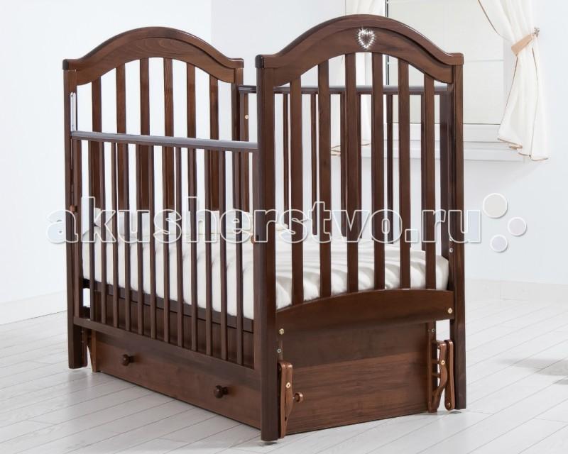 Детская кроватка Гандылян Софи (универсальный маятник) - Орех